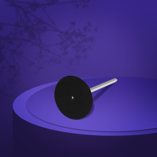 Диск педикюрный пластиковый  удлиненный PODODISC EXCLUSIVE M в комплекте со сменным файлом 180 грит 5 шт  (20 мм), набор