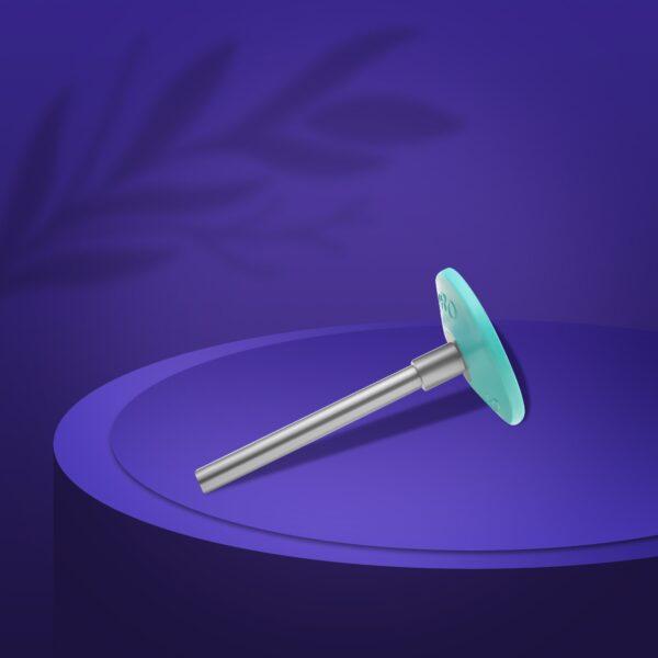 Диск педикюрный пластиковый  PODODISC EXPERT S в комплекте с сменным файлом 180 грит 5 шт (15 мм), набор