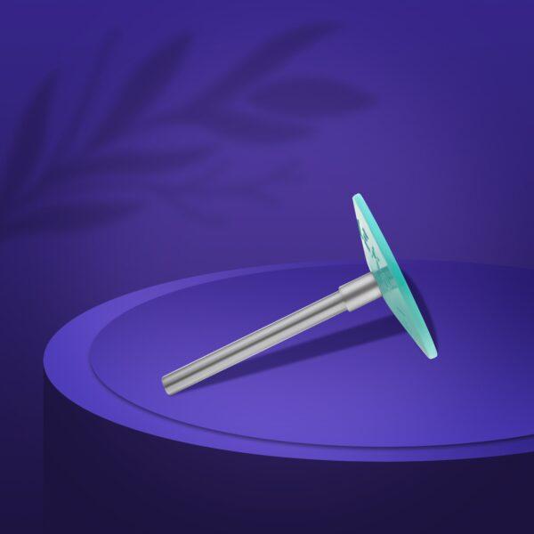 Диск педикюрный пластиковый  PODODISC EXPERT М в комплекте с сменным файлом 180 грит 5 шт (20 мм), набор