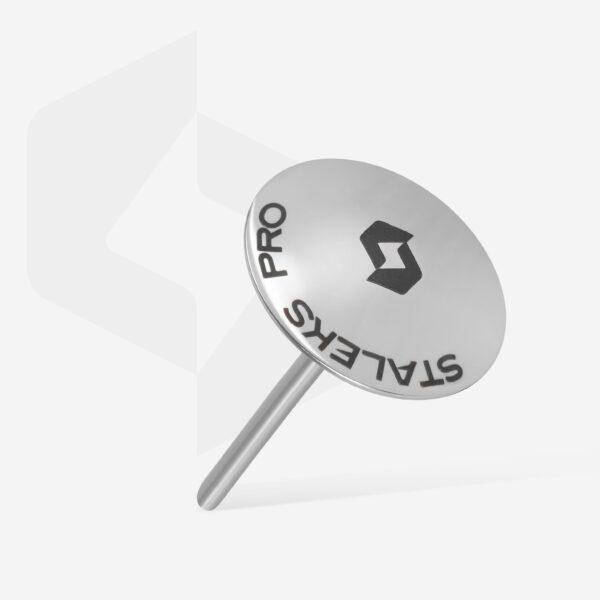 Диск педикюрный зонтик PODODISC EXPERT L в комплекте с сменным файлом-кольцом 180 грит 5 шт (25 мм), набор